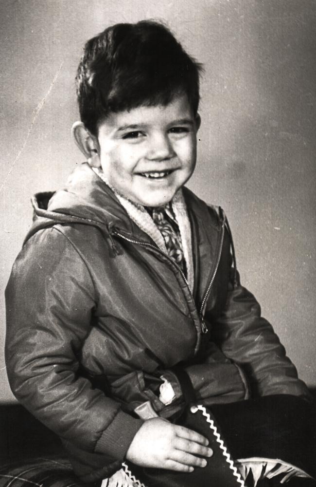 Mario Röllig als Kind