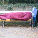 Auch Obdachlose nutzen den Park