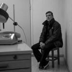 Mario Röllig in dem Vernehmungszimmer, in dem er auch 1987 vernommen wurde