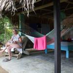 Einfache offene Cabanas