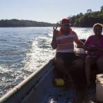 Taxi von Boca Brava zurück ans Festland