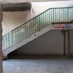 Treppenhäuser im Speisesaal