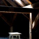 Auf dem Dachboden