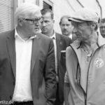 Dieter Puhl und Frank-Walter Steinmeier
