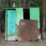 Toilettenhäuschen am Playa Estrella