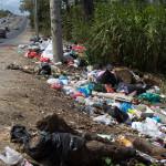 Das sieht man oft im Großraum Panama City. Und das ist noch harmlos.
