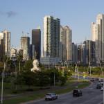 Die Küstenstrße von Panama City