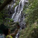Hurra ein Wasserfall...für 5 USD Eintritt, eine echte Sensation