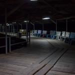 Anlegesteeg von Taboga um 19 Uhr