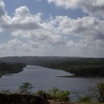 Mündung des Rio Chagres in die Karibik