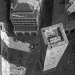 "Bologna - Blick vom höheren der ""Due Torri"""