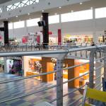Inside Albrook Mall um 10 Uhr morgens