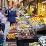 Markt in Bologna