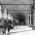 Ca. 40 km Arkaden gibt es in Bologna