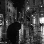 Regen in Bologna
