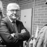 Frank-Walter Steinmeier im Gespräch