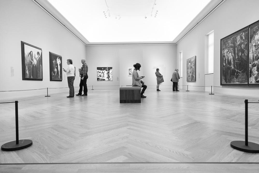 Raum für DDR Kunst