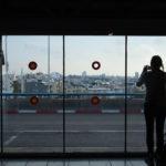 Aussicht auf Tel Aviv von der 7. Etage