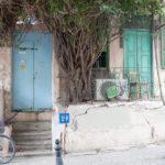Eines der ältesten Häuser im Yemenitischen Viertel von Tel Aviv