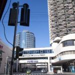 Viele moderne Hochhäuser