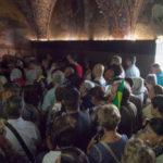 Am Golgatafelsen - hier soll Jesus gekreuzigt worden sein.