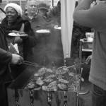 Steaks und Würstchen