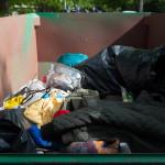 Container für den Abfall