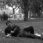 Mohamed im Park